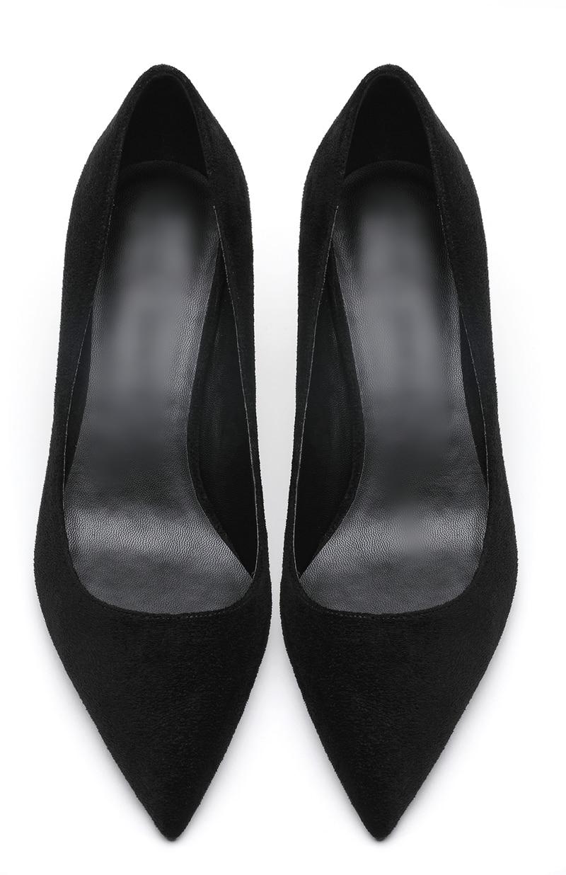 Troupeau marron Noir gris Femme Avec 6 rose Katelvadi Hauts Chaussures Noir De Bout K bleu Femmes Cm Hauts rouge Mode Talons 325 Pointu À Mariage q481w4c0