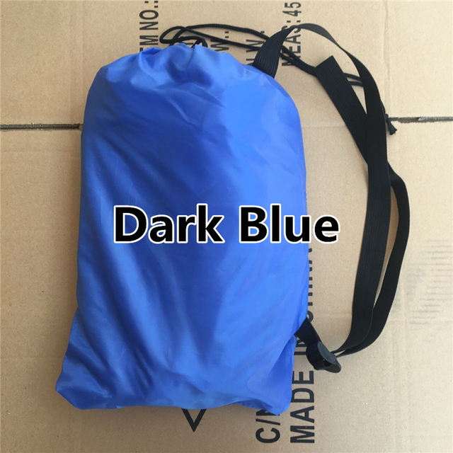 240*70cm Fast Inflatable Lazy Sleeping Bag