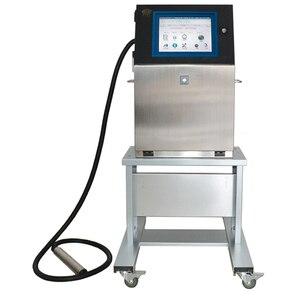 Image 3 - Drukarka atramentowa drukarka atramentowa ciągła maszyna do drukowania małych znaków w pełni automatyczna drukarka kodów kreskowych Logo