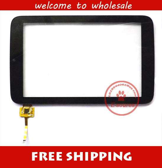 Black or white New 7 inch For 3Q Q-pad RC0738C Tablet Touch screen Panel Digitizer Glass Sensor replacement Free shipping new touch screen digitizer 7 texet tm 7096 x pad navi 7 3 3g tablet touch panel glass sensor replacement free shipping