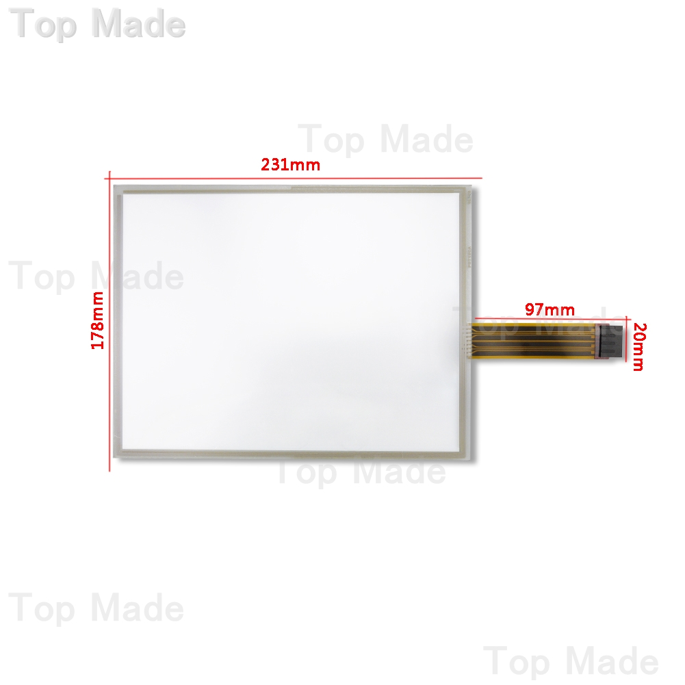 ФОТО New for Allen-Bradley 2711P-T10C4D1 2711P-T10C4D2 Touch Screen AB Panelview 2711P