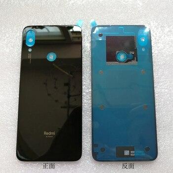 Стекло для Note 7, чехол для аккумулятора, запасные части для Xiaomi Redmi Note 7, задняя крышка аккумулятора, чехол для телефона, бесплатная доставка