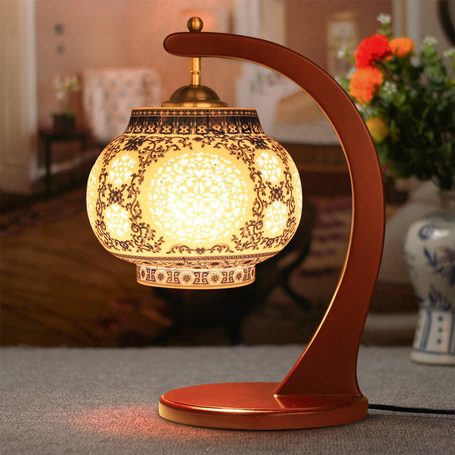 Antique Lamp Living Room Retro Table Lamp Study Table Lamp Old ...