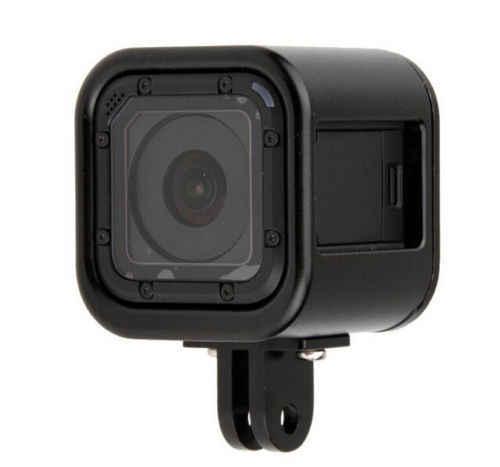 CNC алюминиевый защитный чехол Обложка рамка для GoPro Hero 4/5 сеанса Go профессиональная спортивная камера аксессуары # F3150