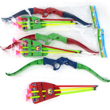 Bow Arrow Playsets Archery Shooting Sport Outdoor Games Competitive Props Children Kids Gift Toys Set Plastic