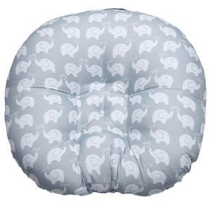 Newborn Baby Lounger Portable Soft Chair Elephant Sofa Support Seat Pillow