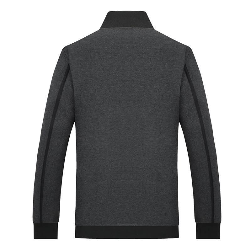 Veste Nouvelle Vêtements Printemps Beige 5xl Survêtement Taille Col Automne Solide 2019 Casual Mandarin 9xl 8xl 6xl 10xl Couleur Plus Hommes La PH6qP8