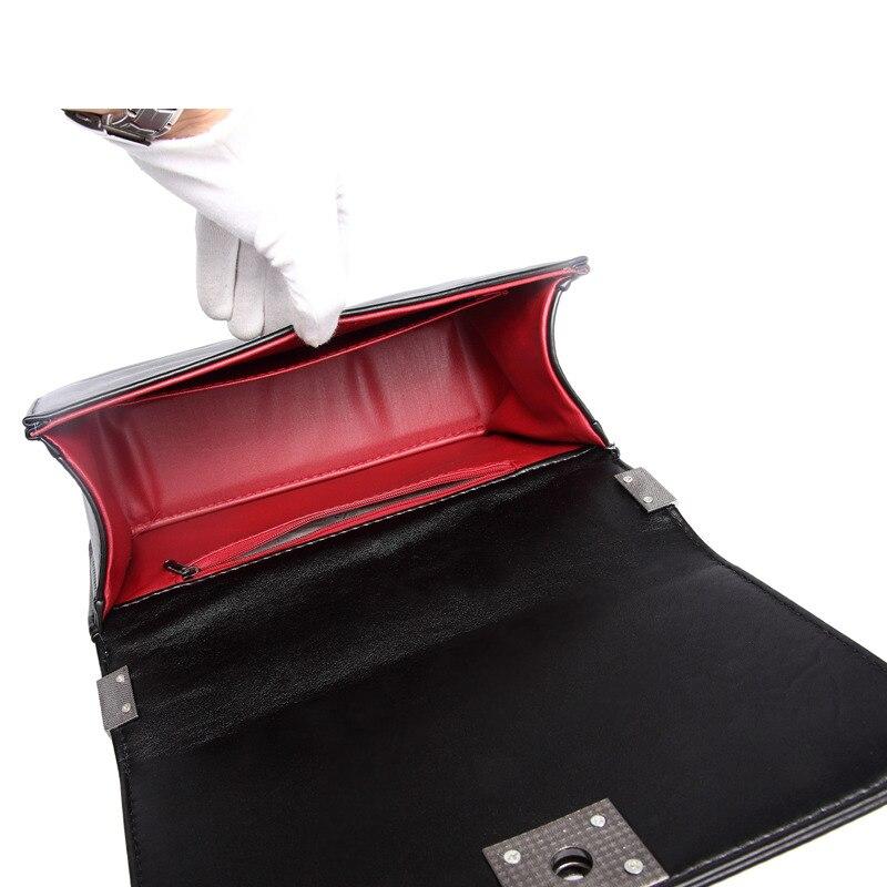 qualidade senhora da manta acolchoada Women Leather Handbags : Lady Chain Bag Diamond Lattice Shoulder Bags