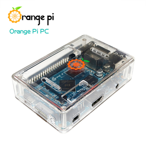 Image 5 - Orange Pi PC SET3 :  Orange Pi PC + ABS Transparent  Case + 4.0MM   1.7MM USB to DC power cable