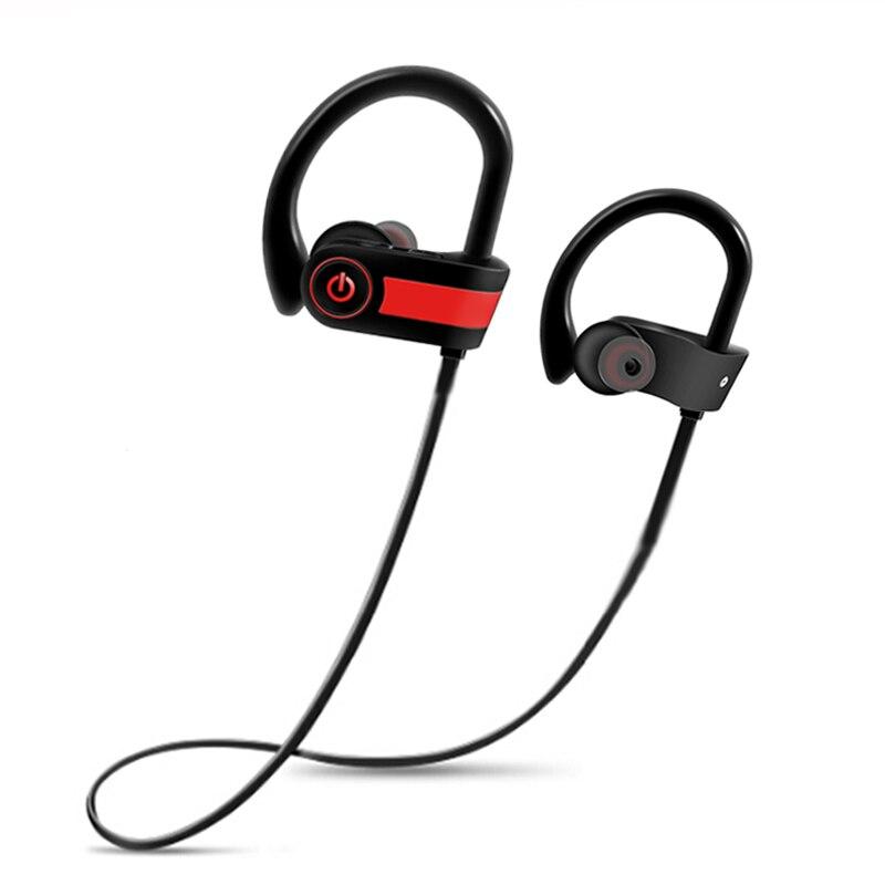 Teamyo Sans Fil Bluetooth Écouteurs sport Casque tour de Cou casque IPX7 sweatproof écouteurs avec micro Pour Téléphone iPhone xiaomi