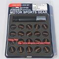 17 Hex Black Racing Lock Nut Sport Wheel Lug Nut Rays Wheel Nuts (P1.5)