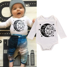 2016 Fashion Baby Kids Boy Girl Warm Infant Romper Jumpsuit Cotton Clothes Outfits