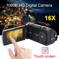 3'' LCD 1080P 5MP 16X ZOOM Camcorder Camera DV DVR Party Digital Handheld Face Detect Touch Screen Beauty Face