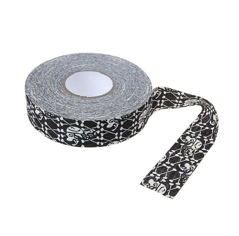 2.5cm X 25m Cloth Hockey Tape Sport Safety Football Volleyball Basketball Knee Pads Hockey Stick Tape Elbow Golf Tape
