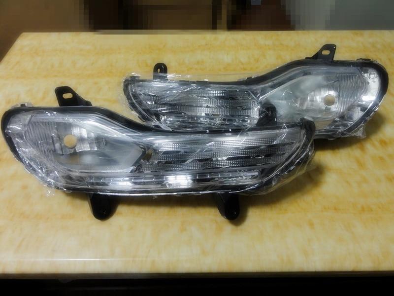 2 db / pár átlátszó lencse első lökhárító ködlámpa izzók - Autó világítás