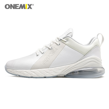 ONEMIX 2019 new men's sports shoes fashion air cushion men's running shoes breathable and durable sports outdoor sports