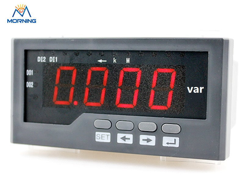 3Q41 panel size 60*120mm  led panel digital 3 phase reactive power meter accuracy class 0.5