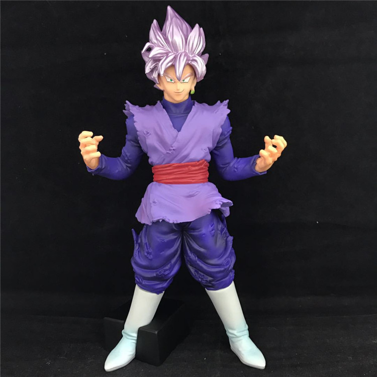 Toys & Hobbies Obliging Anime Game Dragon Ball Z Son Goku Black Zamasu Pink Hair Action Figure Gohan Father Super Saiyan Chocolate Dbz Model Toy 20cm Always Buy Good