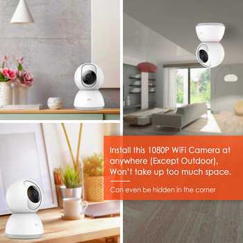 Xiaomi Mijia Mi 1080P IP Smart Camera 360 Angle Wireless WiFi Night Vision Video Camera Webcam Camcorder Protect Home Security