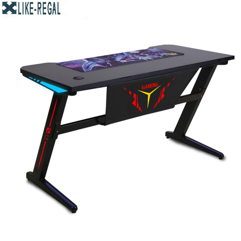 Gaming computer  games competitive  Internet cafe table ergonomic desk title=