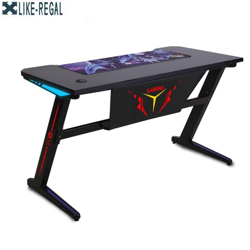 Jogos de computador jogos competitivos internet café mesa ergonômica