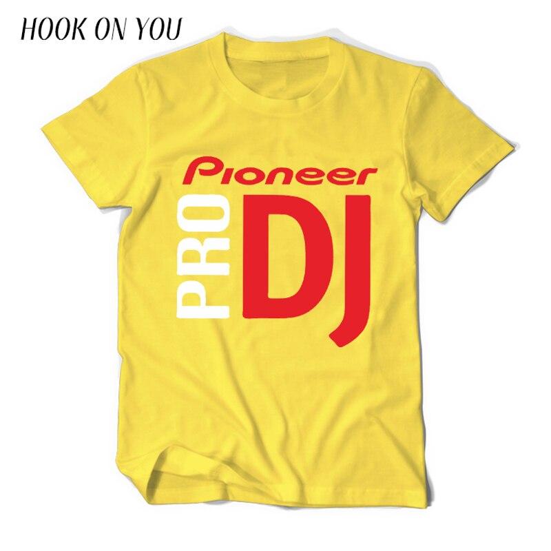 Pioneer DJ T shirt Fashion 2018 Summer For Pioneer DJ PRO T-Shirt Letter Print Men Tees O-Neck tops free shipping 2018 Camiseta Футболка