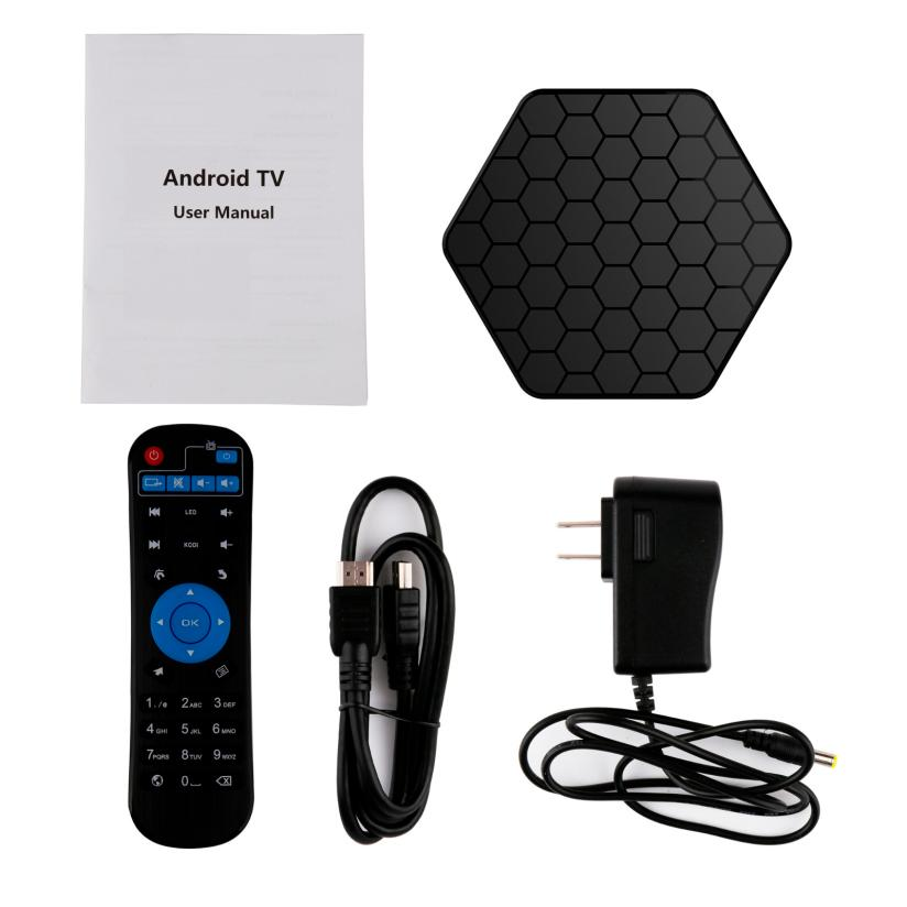S912 Android 6.0 TV Box Octa Core 2GB DDR3+16GB WiFi HD Media Player jan25 smart set top box t95zplus octa core s912 2gb 16gb tv box media player wifi android iptv box support h265 tv receivers stb