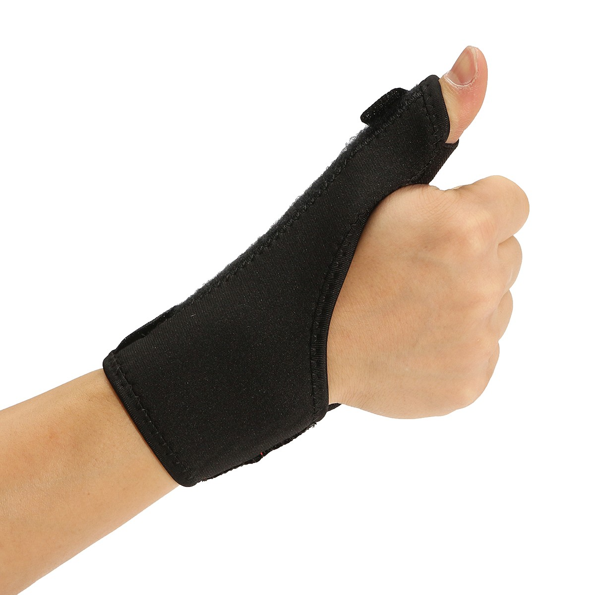 Hot Sale 1pc Practical Wrist Thumb Hand Support Brace Elastic Fitness Wrap Wrist Support Sport Training Exercise Thumb Protecter