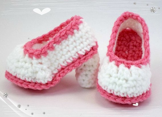 3f8e536975712 US $9.0 10% OFF|crochet baby shoes girl booties knitted boots handmade  newborn shoe shower gift. widding gift-in First Walkers from Mother & Kids  on ...