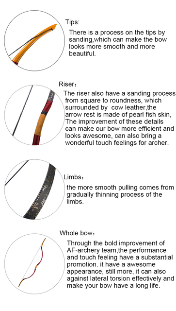 2018 NEW style Handmade Han long  bow Han bow Outdoor Recurve Bow for Archery Hunting with High Quality
