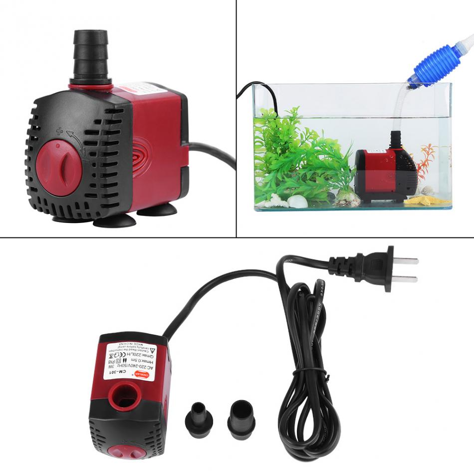 220V-240V Submersible Water Pump Mini Submersible Water Pump Water Aquarium Water Pump Aquarium Pond Garden Fish