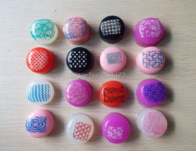 New Stamper Plug Marshmallow Candy Refill Squishy Silicone Soft Nail Stamp