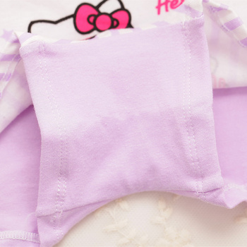 4Pcs Cartoon Soft Cotton Girl's Boxer 2-9 Year 1