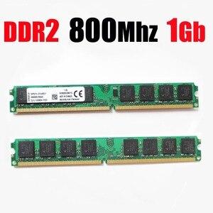 Оперативная память ddr2 800 1 ГБ ddr2 800 МГц 1 ГБ 1 ГБ 1 ГБ DDR2 RAM PC PC2 6400 PC2-6400 memroy RAM настольная/ddr 2 800 1G-пожизненная Гарантия