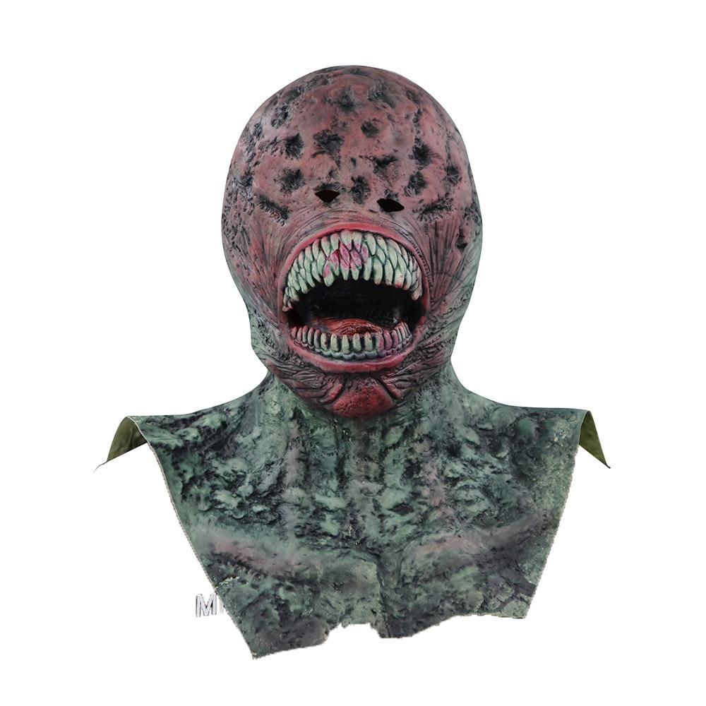 Halloween Spielzeug 2018 Erwachsene Kind Latex Volle Scary Requisiten Entspannt Party Terror Zombies Maske 25-40days Zu ihrem ziel