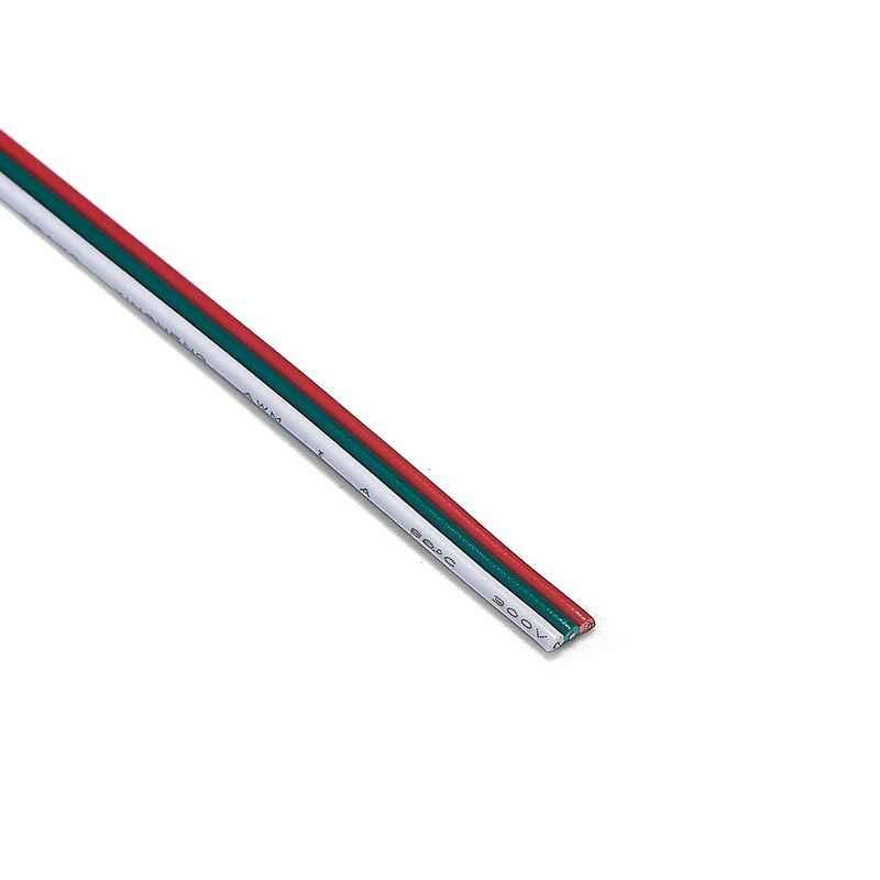3 Pin 22AWG Электрический провод 5 м 10 м 20 м 50 м кабель из луженой меди для 5050 WS2811 WS2812 светодиодный регулятор линейного светильника SM JST разъем