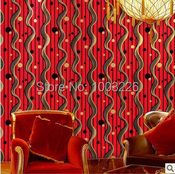 ФОТО beibehang Dot Wave PVC Wallpaper 3D Waterproof mural Wall Paper roll Club KTV Entertainment Background Wallpaper for living room