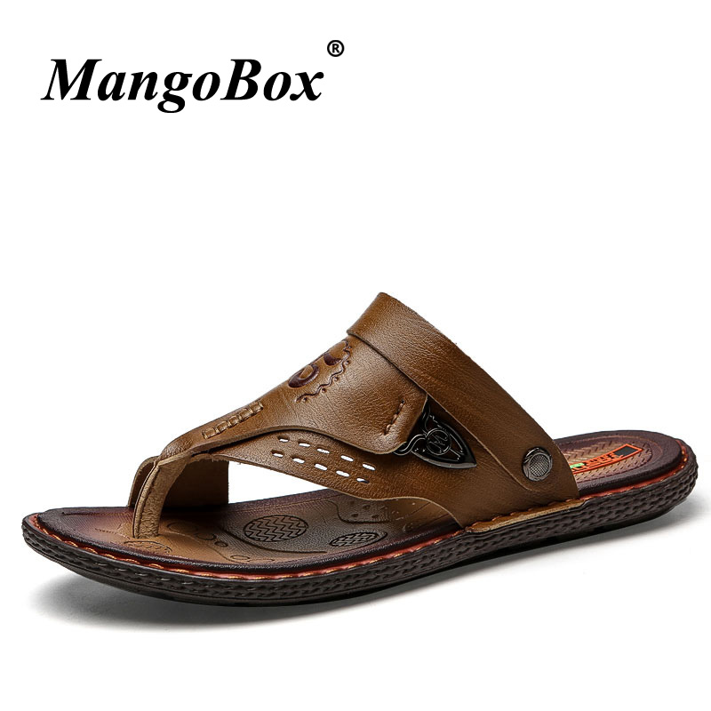 2018 Trend Platform Sandals For Men Brown Khaki Sport Mens Shoes Outdoor Slippers Wearable Beach Water Shoes Walking Sneakers