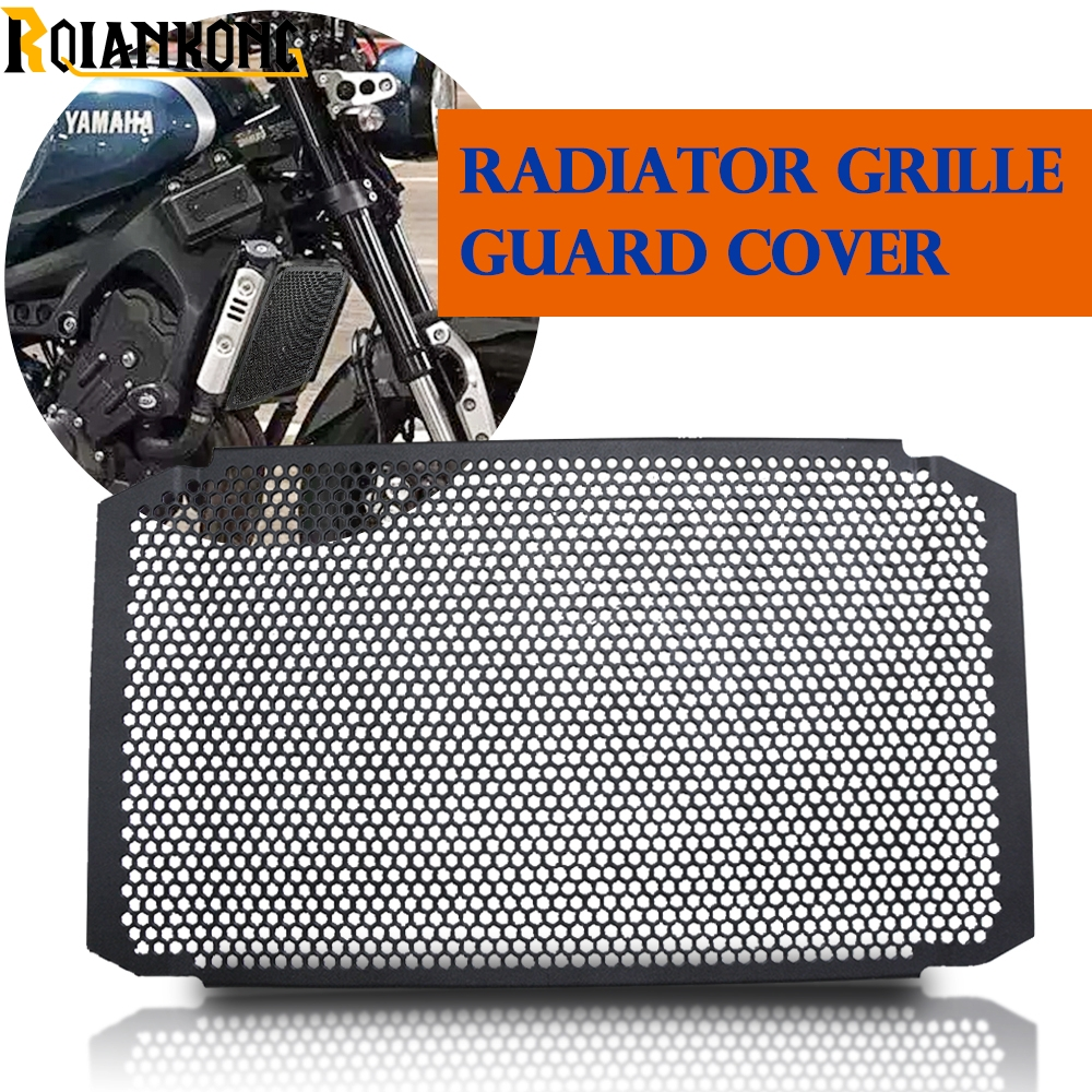 2019 Motorcycle Radiator Guard Grille Cover Stainless Steel Cooler Protector For yamaha FZ 09 MT 07