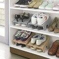 De espesor Doble Limpieza De Zapatos de Almacenamiento En Rack Bastidores de Zapatos Modernos Sala de estar Cómodo de Zapatos Caja de Zapatos Organizador Soporte de Estante