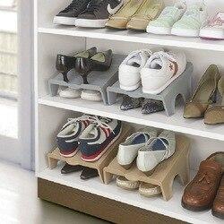 Dicke Doppel Schuh Racks Moderne Reinigung Lagerung Schuhe Rack Wohnzimmer Bequem Schuhkarton Schuhe Organizer Stehen Regal