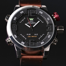 2016 new design AMST Genuine special multifunction LED military men quartz watch outdoor sport watch