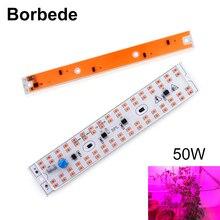 Borbede 50 вт DIY COB светодиодный светильник для выращивания растений полный спектр для комнатных растений и цветов