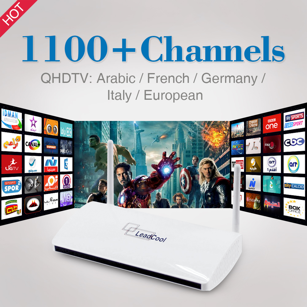 Smart Android TV Box with 1 Year Free IPTV Subscription