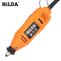 HILDA Mini Drill For Dremel Tools Variable Speed Tools Electric Rotary Tool Dremel Style With 133pcs