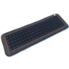 Cheap&High Quality Heated Tourmaline/Germanium Stone Massage Mat For Sale Free Shipping все цены