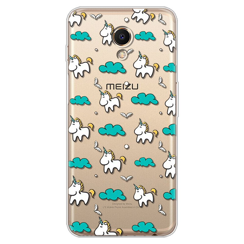 Cartoon Cute Unicorn Case For Meizu M6s