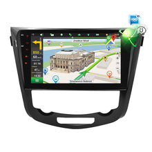 цена на IPS Screen Android 9.0 Car DVD Player for Nissan X-Trail Qashqail 2014-2017 GPS Navigation Radio Video FM Stereo Multimedia
