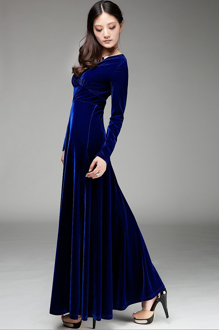 Long spanish dresses