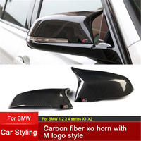 Replacement Carbon Fiber Mirror Covers Caps Shell for BMW 1 2 3 4 series M series F20 F21 F22 F23 F30 F31 F32 F33 F34 F35 E84